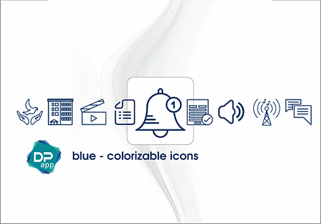IconPack Blue colorizable